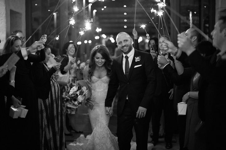Sparkler farewell #sparklers #farewell #wedding #mr&mrs #bride #groom #justmarried #love