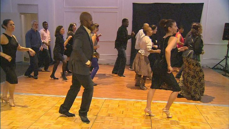 Take a salsa class with Energetic Soul, then practice your steps to live music.