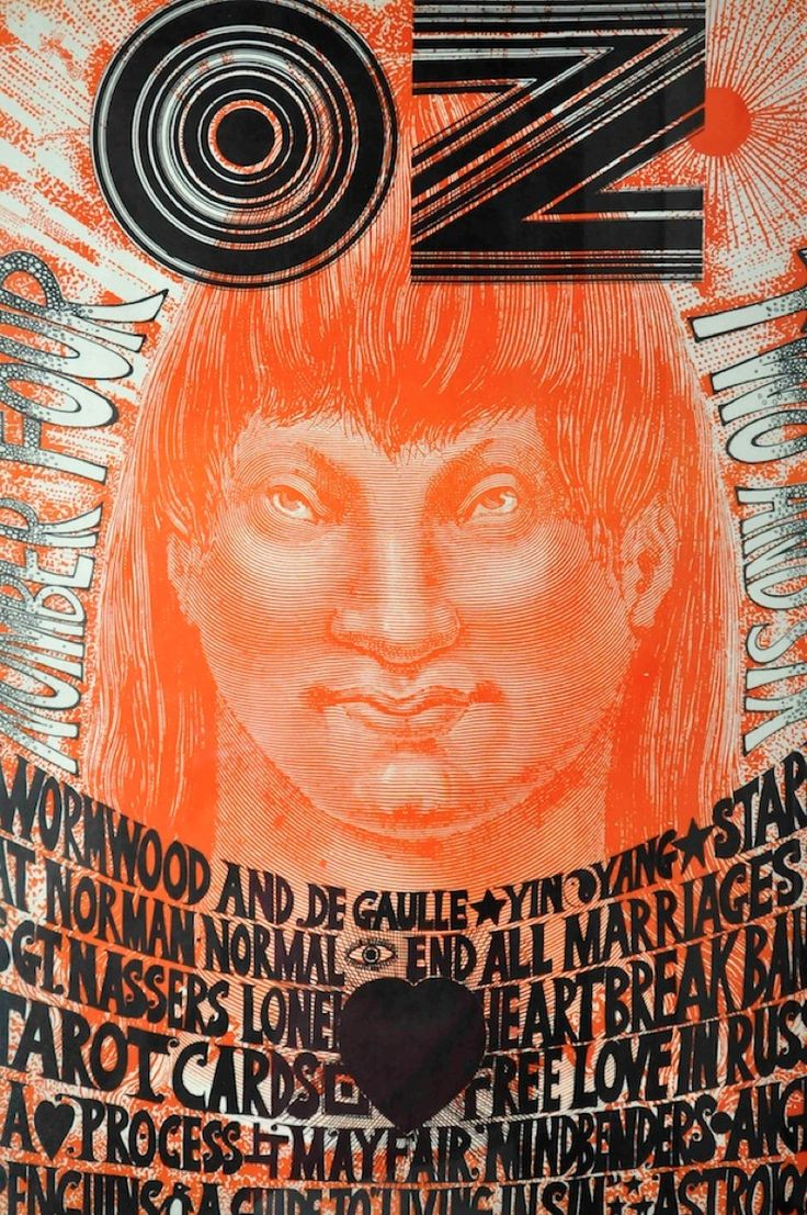 Unhinged graphic invention: Oz magazine in London - Creative Review