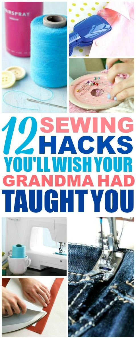 These easy sewing hacks are THE BEST! I'm so glad I found these AMAZING tips…