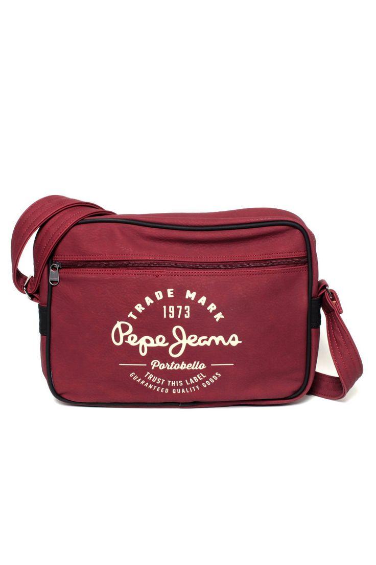 Borsa Tracolla Laptop Pepe Jeans Monsul Bag 298 Bordeaux
