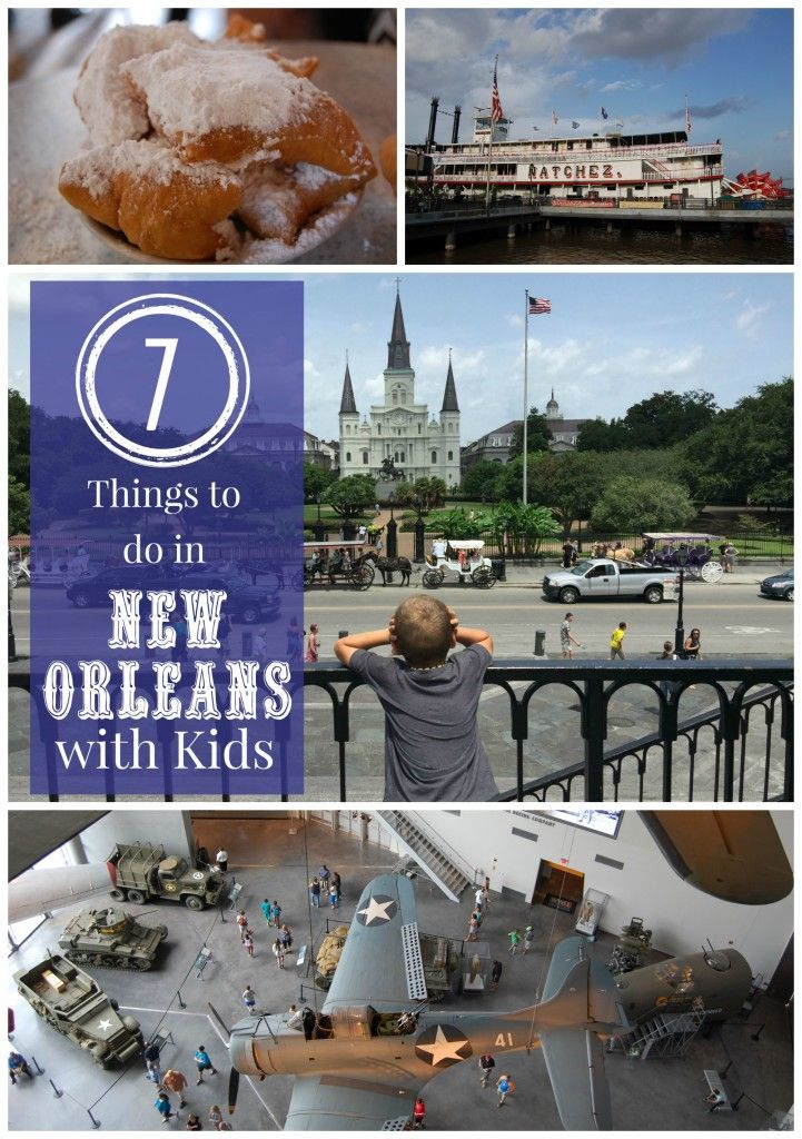 Things to do in New Orleans, LA with Kids