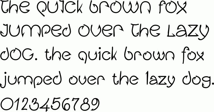 See the Fishhook Bold free font download characters