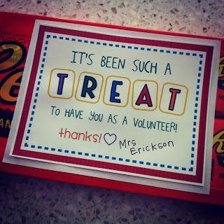 Easy & cute volunteer gift