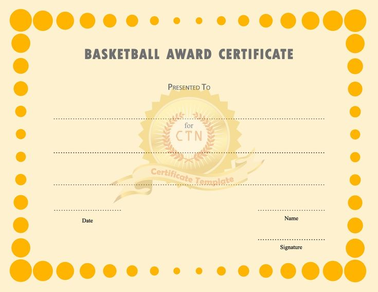 44 best Blank Certificate Templates images on Pinterest Award - blank certificate