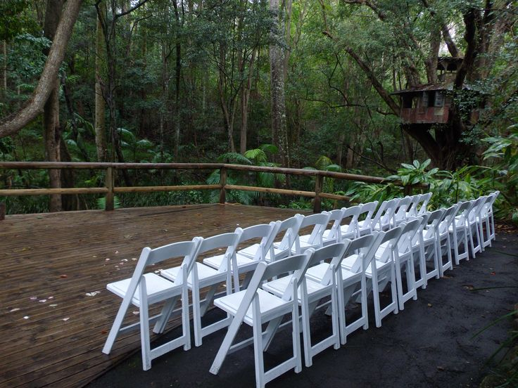 The wedding ceremony area at Hitched at The Boomerang Farm Brisbane Celebrant Neal Foster The Marriage Celebrant performs weddings here.