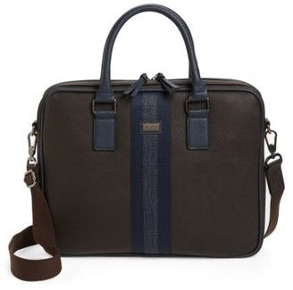 Ted Baker Men's Slivain Briefcase - Brown