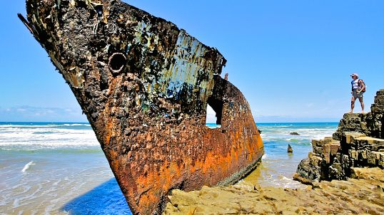 Jacaranda Shipwreck - Wild Coast - Eastern Cape - South Africa