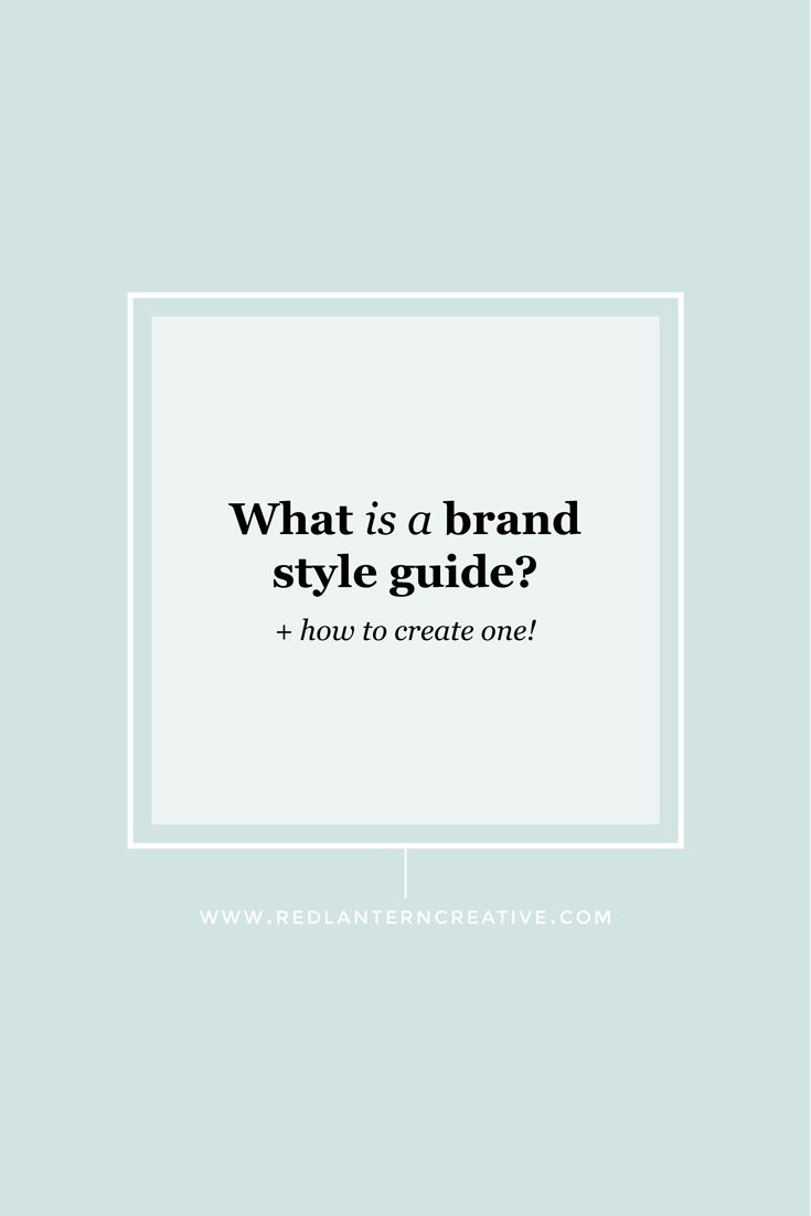 Having a brand style guide will keep your branding consistent. But what's in a brand style guide? I'll show you ...
