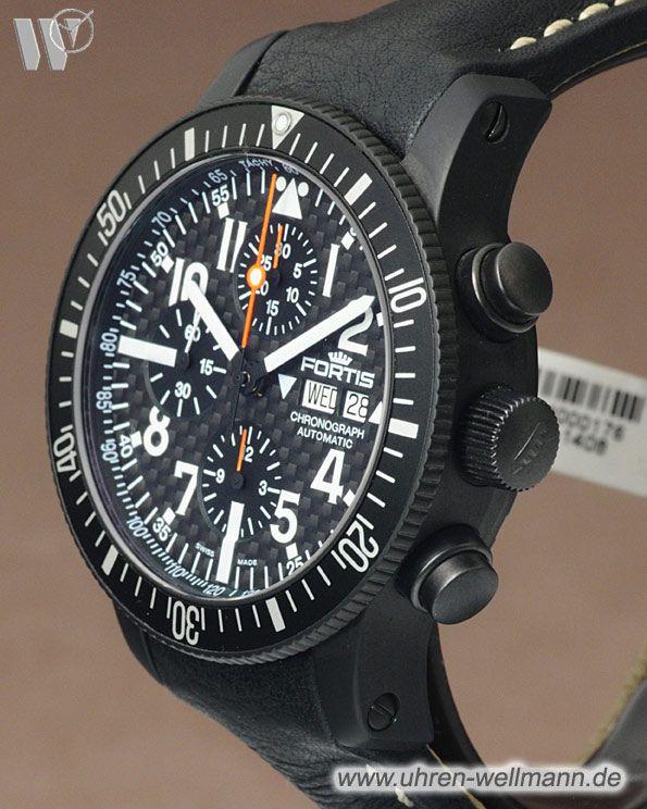 Fortis B42 Black Chronograph 6382871L-(4284)- bei Uhren - Wellmann