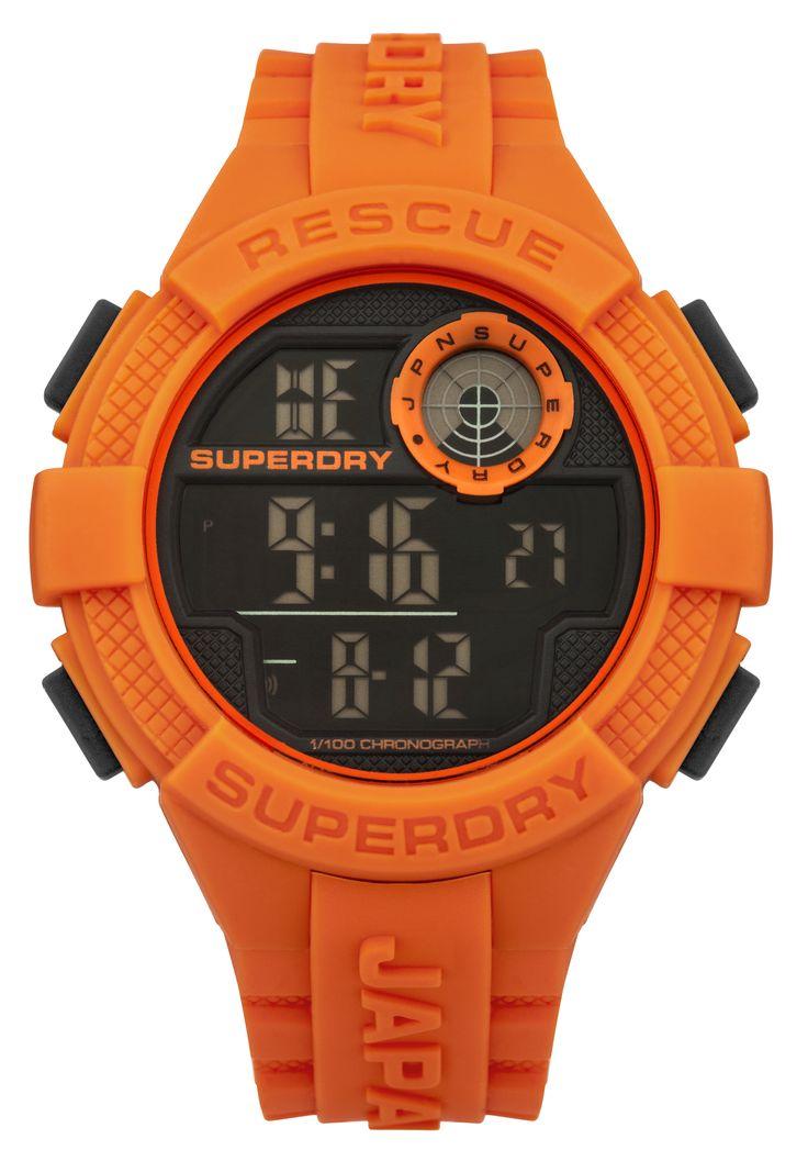 Superdry Radar Digital Watch SYG193O