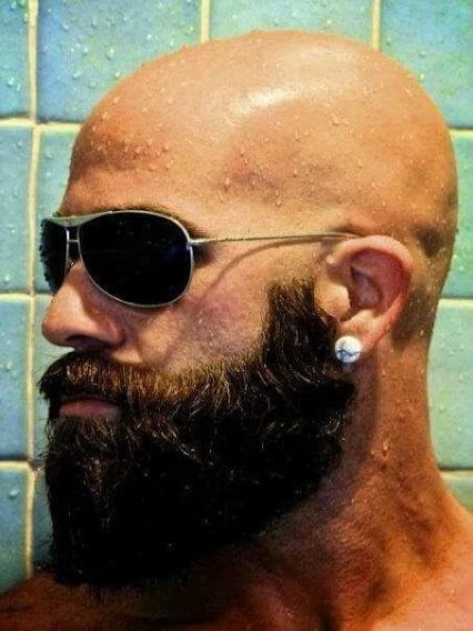 bald facial hair styles 111 best images about bald beard style on 4334 | deb9d0c2cb5843c8ea85f4f024dd81f4 beard bald man beard