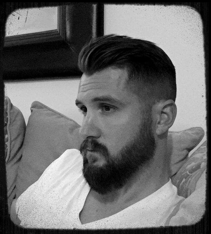 Lefthandman Owner Nathan Mills Hair Amp Beard Mens Modern Hairstyles Pinterest Mens Modern