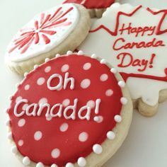 Canada day cookies - Google Search