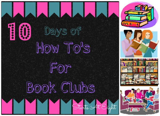 Welcome to the third day of 10 Days of The How To's For Book Clubs. Today we are talking about finding a book club that suits you. Or if you can't find one that works, then we will talk about how to start a book club of your own! Having been an avid reader all … more
