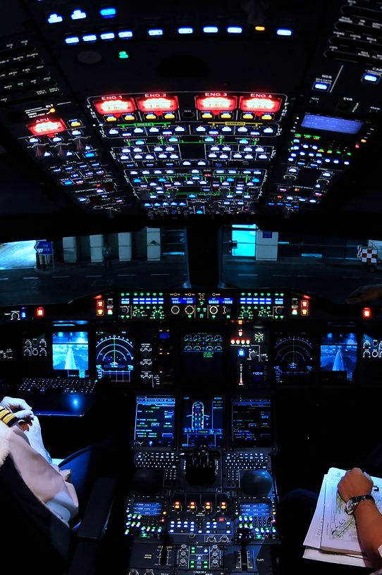 Glass cockpit - All instruments in a screen Avionics- Glass cockpit Glass cockpit avionics are a class of avionics, which uses light indications and/or screens to indicate all the parameters and indications needed for the operation of the aircraft....