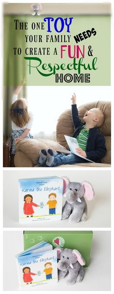 Karma the Elephant...teaching kids kindness and compassion with a fun lift and look flap book. A unique book and plush gift set.  www.karmaandfriends.com