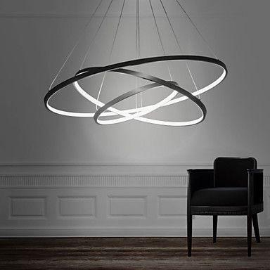 90WPendant Light Modern Design/ LED Three Rings/ 220V~240/100~120V/Special for office,Showroom,Living Room 4745723 2016 – $200.19