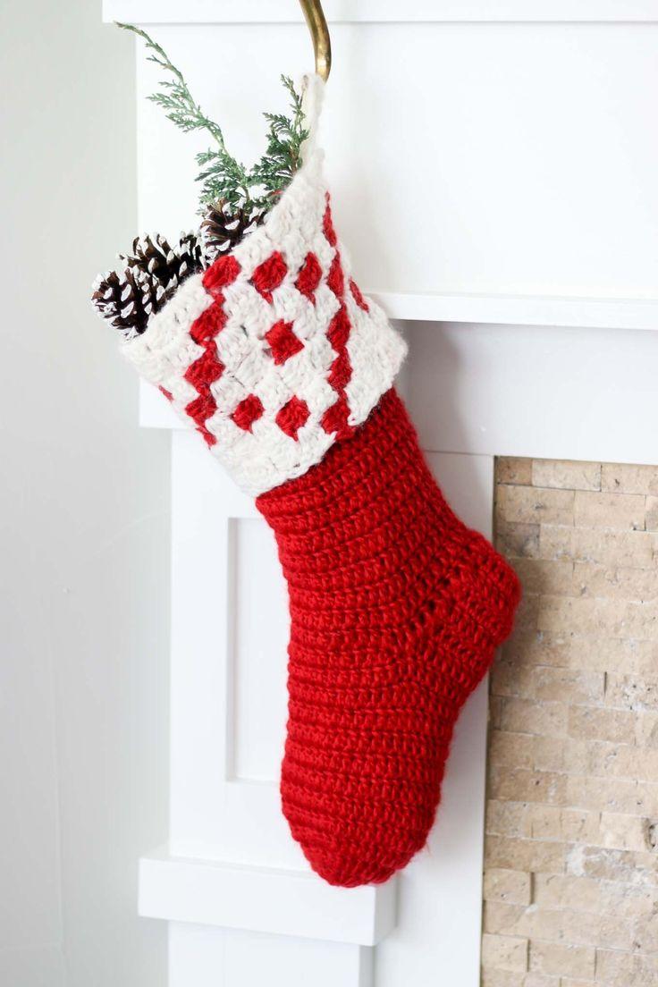 Crochet Kit - The Stockholm Stocking - Kits - Lion Brand Yarn