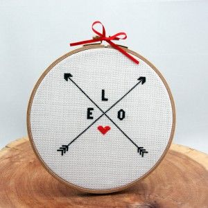 love-kanavice-cross stitch