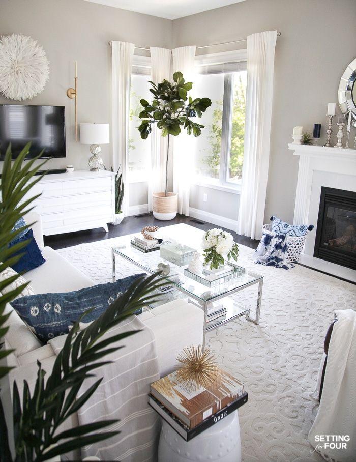 Elegant Living Room Decorating Tips For Summer For The Home