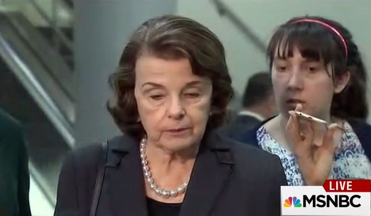 """The seriousness & gravity of the briefing, showed on the Senators faces! Unusual reactions to """"highly classified"""" information from the FBI Director."""