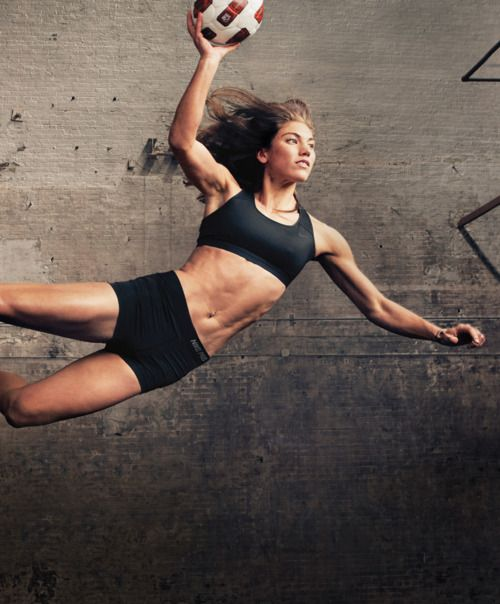 """""""You're always going to survive the pain of loss. I can live with that confidence inside of me."""" Hope Solo"""