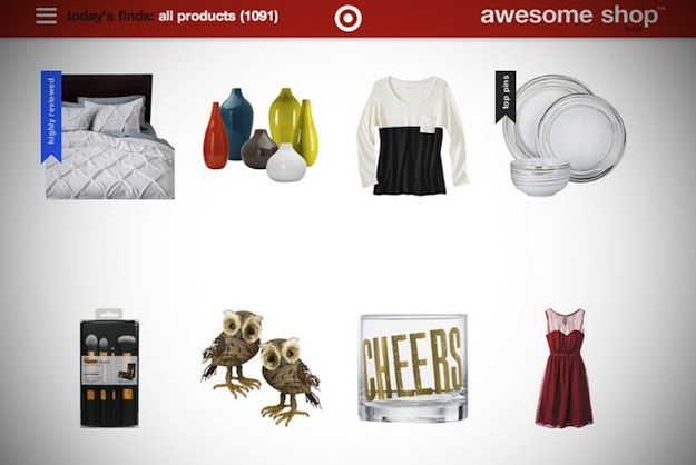 The 'most pinned' items are filtered at the top for customers to easily see what's trending.