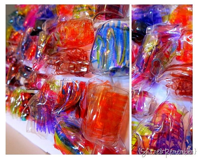 recycled plastic bottles to making plastic beads--- creative website