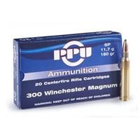 PPU .300 Win. Mag 180 Grain SP 20 rounds: PPU .300 Win. Mag 180 Grain SP 20 rounds #Hunting #Shooting #Fishing #Camping