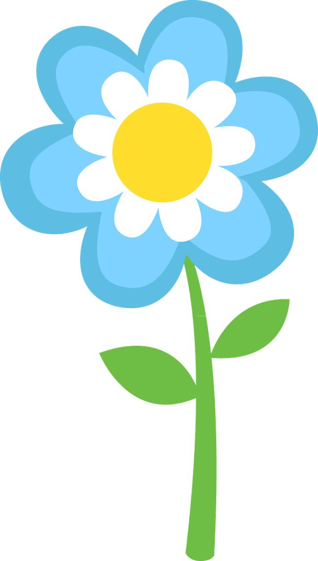 Spring Flower Clip Art Clipart Pinterest Flowers Clip Art And