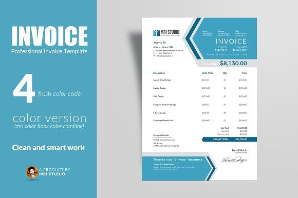 Creative Invoice Template Invoice Template Stationery Templates Templates