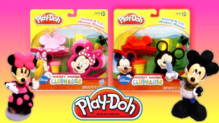 PlayDoh Mickey Mouse Clubhouse Set  Minnie Mouse Disney Junior Playdoh Toy play set unboxing from Rainbow Toys TV https://youtu.be/GzOSiNJl-v8?list=PLDogJfx3GEGLP5wPCY1no87EidOppjZva