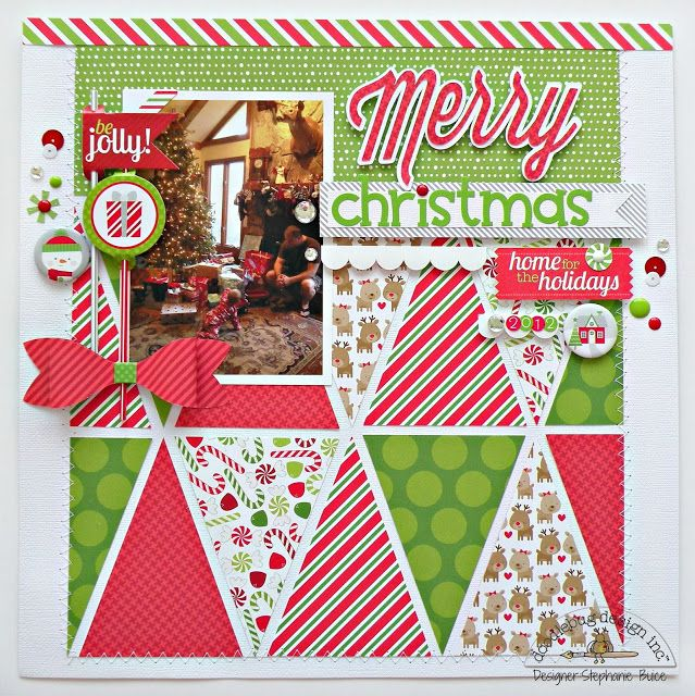 Doodlebug Design Inc Blog: Home for the Holidays: Layouts Inspiration Day 1