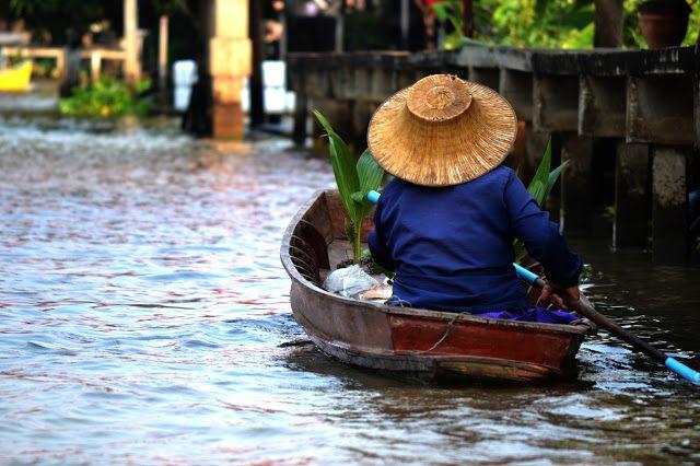 Bangkok , Floating Market , Thailand , Travel , Love