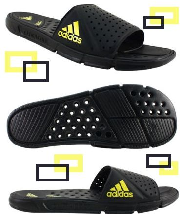 Mens Adidas Cc Revo Slide Sandals