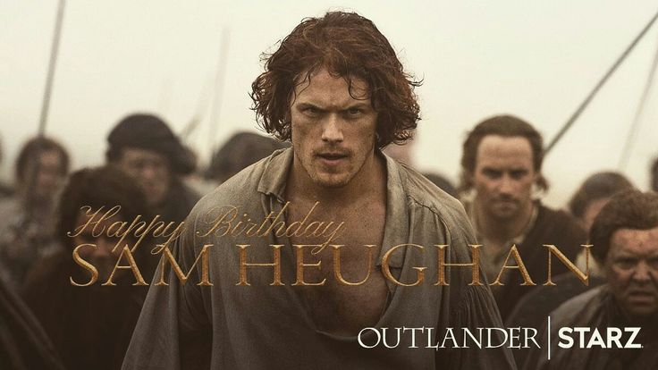 """Happy birthday, @SamHeughan of Outlander! Don't forget that Cesar """"Fergus"""" Tomboy will be making an appearance at the Games for the 2017 season!  www.GMHG.org"""