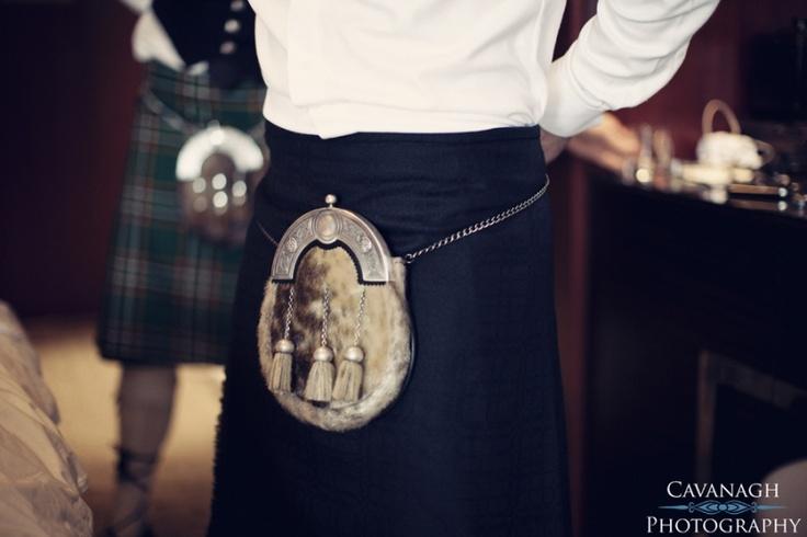 Marrying a Scotsman? Kilt & Sporran. Image: Cavanagh Photography http://cavanaghphotography.com.au