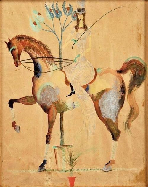 by Jose de Almada-Negreiros (Portuguese 1893 - 1970)