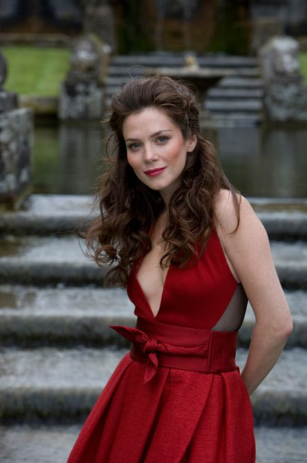 Anna Friel as Anna Latham from the Alpha and Omega series by Patricia Briggs