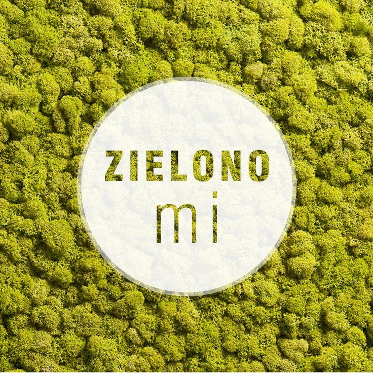 Życzymy Wam #zielonego i zwariowanego #weekendu z oryginalnym #mchem włoskiej firmy Moss Trend®.