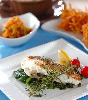 鯛のハーブ焼き」の献立・レシピ - 【E・レシピ】料理のプロが作る簡単 ... 鯛のハーブ焼きの献立
