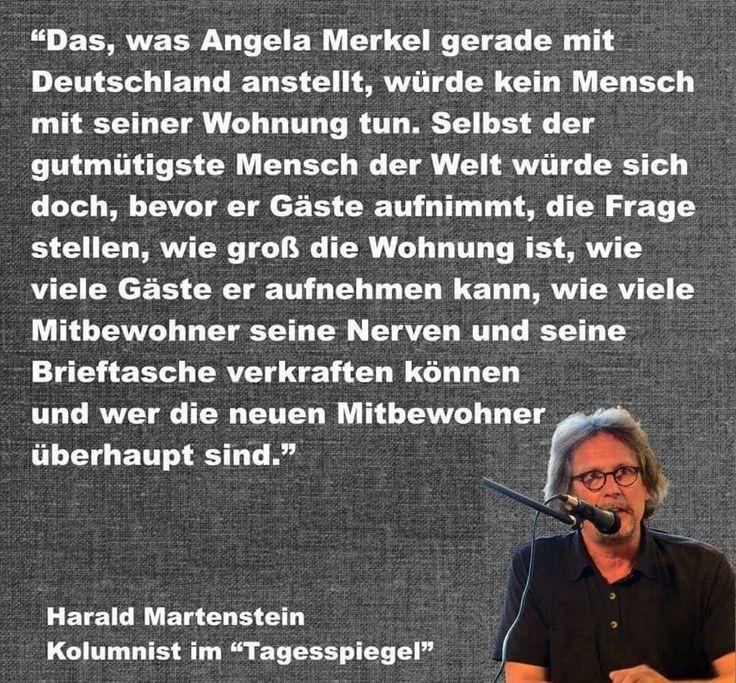 Angela Merkel and the refugees