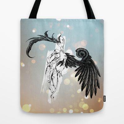Candle Maker Tote Bag by Alexporfavor - $22.00 #artwork #digitalprint #illustration #desing
