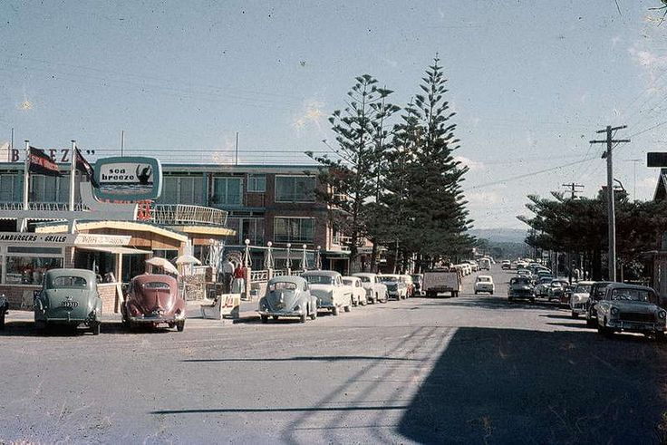 Pictures of Australia from 1959 Surfers paradise