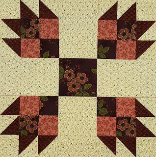 Civil War Quilts: Westering Women 11: Bear's Paw
