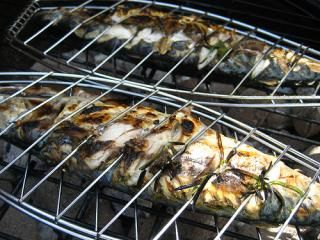 BBQ mackerel recipe