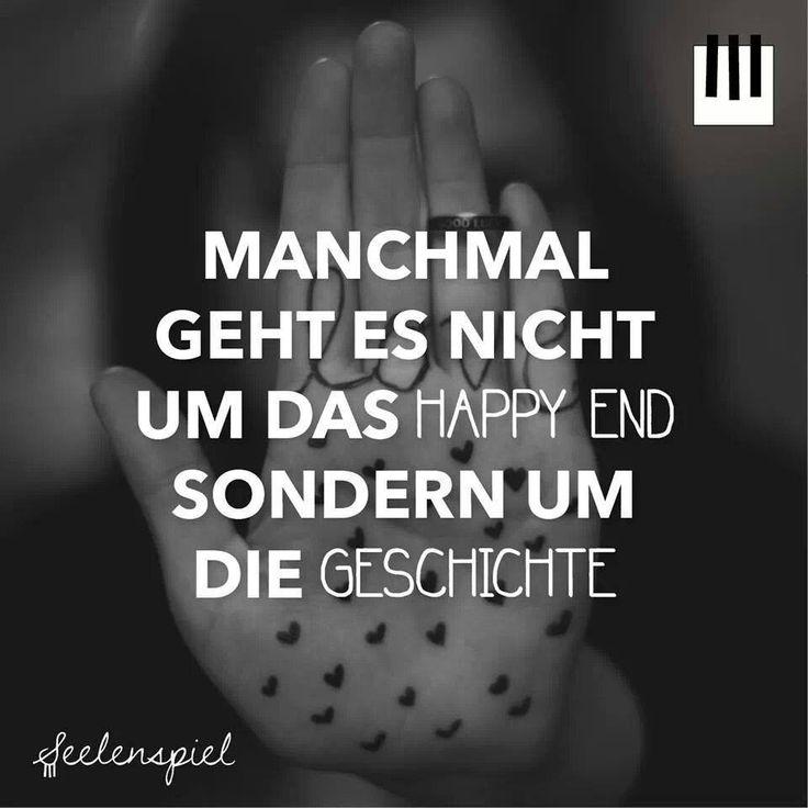 'Manchmal geht es nicht um das Happy End, sondern um die Geschichte.' // Das Happy End nehme ich trotzdem gern! :3 ~