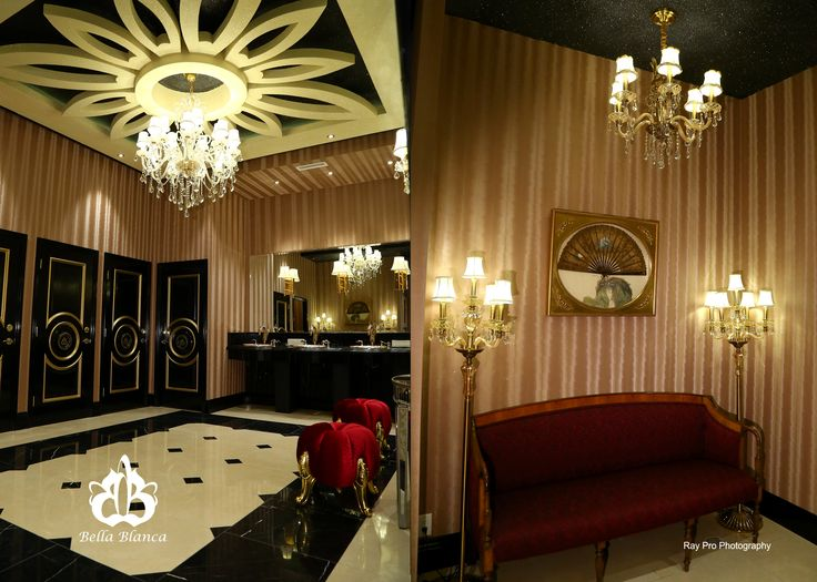 For an especially memorable wedding think of bellablanca our powder room will make
