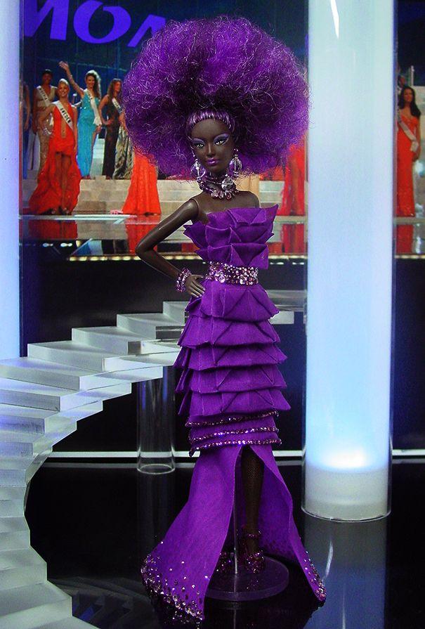 jaynedoll — thedollcafe: Miss Malawi 2013/2014 by NiniMomo...